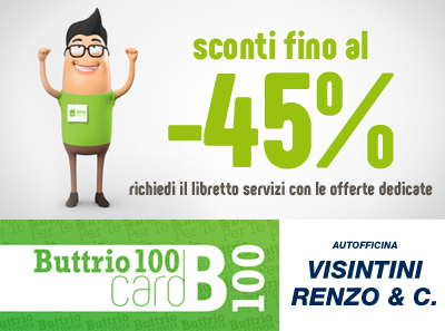 Autofficina Visintini / Buttrio 100 Card!